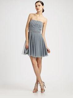 Aidan Mattox - Strapless Dress