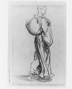 John Singer Sargent - Woman Walking