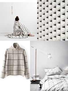 Mood Board: If you're not an Instagram addict, blog lover or design nerd like me you may be surprised to find that GRIDs are totally a thing at the moment. / Get started on liberating your interior design at Decoraid (decoraid.com)