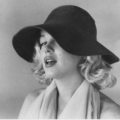 "Marilyn Monroe in ""The Hat Sitting"" by Carl Perutz, June 1958."