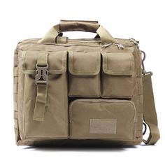 "yin qi shi men's Shoulder Bags Molle Outdoor Sport Rucksack 15"" Laptop Camera Mochila Military Tactical Computer Bag"