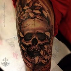 #skull by Joao Bosco. The Family Business Tattoo