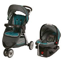 """Alt idea for stroller...Graco FastAction Fold Sport Click Connect Travel System Stroller - Caraway - Graco - Babies """"R"""" Us"""