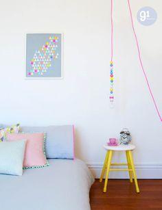 pastels + neon