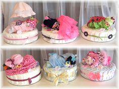 Baby-Dusche-Windel-Baby & Kuchen von thecraftersgarden auf Etsy