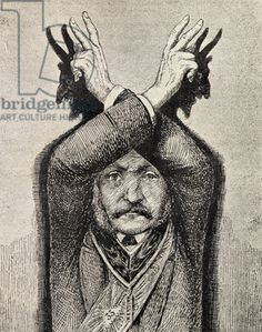 'The Freemason', by Eugen Lennhoff, published 1932 (litho) See the shadows of the hands