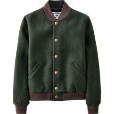 f3d1e9e638c3 Uniqlo IDLF Blouson in Green 58 Blouson Vintage
