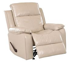 This Steamboat is a casual power reclining chair. Covered in leather, is spacious and comfy. It will accommodate you for a movie or the big game.