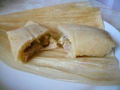 #Receta Mi Cocina Rápida: Tamales de Pollo en Salsa Verde