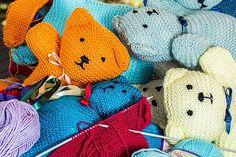 Knitting, Handwork, Hobby, Handmade