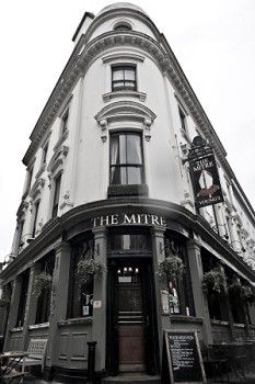 The Mitre pub in Lancaster Gate was one of my locals back in the early seventies.