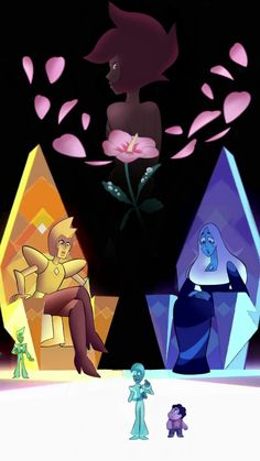 Steven universe ... Yellow diamond ... Blue Diamond ... Pink diamond ... || someone was supreme authority someone like one of you !!!!