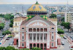 Amazonas Theater, Manaus-AM, Brazil