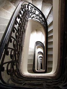 Barolo Palace | Palacio Barolo, Buenos Aires, Argentina. by Gustavo Aimar, via Flickr Stairs To Heaven, Stair Steps, Leaving Home, Take The First Step, Travel Memories, Beautiful Architecture, Places Around The World, Stairways, Places To See