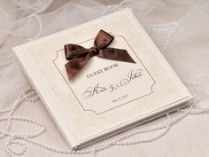 Shabby Chic Wedding Guest Book Ideas from 4LOVEPolkaDots. To see more: http://www.modwedding.com/2014/06/12/chic-wedding-guest-book-idea/ #wedding #weddings #guestbook