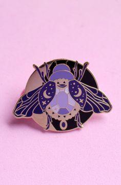 Jewel beetle enamel pin!