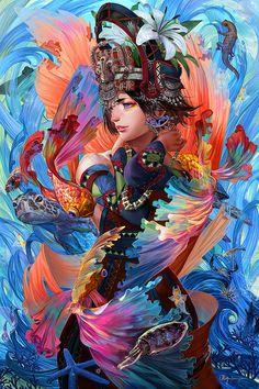The Ocean Whisperer by bcnyArt
