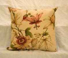 Botanical Print Pillow Cover on Etsy, $25.00