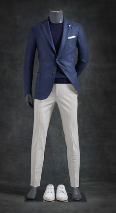 🖤 Men Casual Suit Style with Complete Outfit 🖤 Blazer Outfits Men, Casual Outfits, Fashion Outfits, Blue Blazer Outfit Men, Men Blazer, Gentleman Mode, Gentleman Style, Mens Fashion Suits, Mens Suits