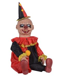 Giggles Clown Zombie Baby Prop only at Spirit Halloween  $59.99