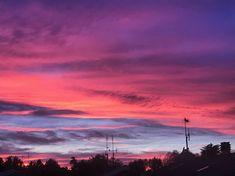 Awesome sky in Cesena, Emilia-Romagna, Italy 💕🇮🇹🎀