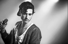 Max Colombie, he's the singer of the Belgian groep Oscar And The Wolf. They just released a new single named 'Princes' I can't describe how beautiful this song is.