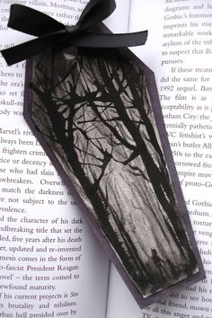 Gothic Bookmarks - PAPER CRAFTS, SCRAPBOOKING & ATCs (ARTIST TRADING CARDS)