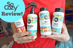 Loving this @SoCozy_ hair line for kids!