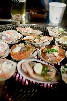 Seafood Dinner @ Gangnam, Seoul