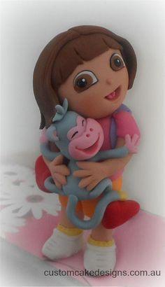 Dora the Explorer - Cake by customcakedesignsoz