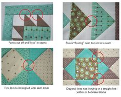 How to Make Perfect Points in Quilting | Connecting Threads