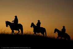 """The American Cowboy - Symbol of the American West"" Photography Workshop - Cowboy in the Dakotas - Photos from our Nature Photography Workshops"