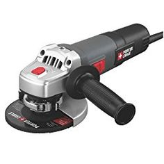 The Porter Cable 4 1/2in. Angle Grinder operates at 11,000 RPM for fast material removal. The durable 6 Amp motor