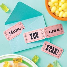 Mothers day coupons / Free printable by Martha Stewart