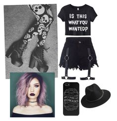 """""""Pastel goth"""" by elsie1407-1 ❤ liked on Polyvore featuring BeckSöndergaard, women's clothing, women's fashion, women, female, woman, misses, juniors and pastelgoth"""