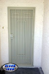 Las Vegas Security Doors & Window Guards | Wrought Iron Security Bars