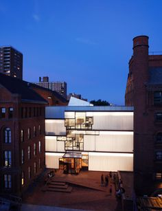 Pratt Institute's Higgins Hall, NYC. Steven Holl Architects