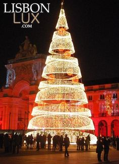 Christmas tree #Lisbon #Portugal