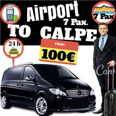 ALICANTE AIRPORT TO CALPE FOR 7 PAX. www.alicante-airporttransfers.com/en/