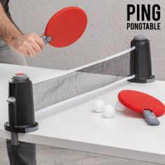 Jeu de Table Portable Ping Pongtable - Harmony Shopping