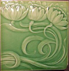 lilies - west side art tiles German?