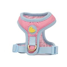 The Brit Harness Pink - 웁스마이독 oopsmydog