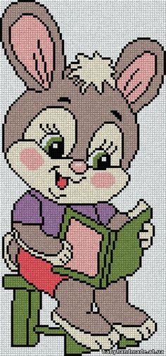"Que ternura! [ ""Que ter nura! Simple Cross Stitch, Cross Stitch Rose, Cross Stitch Baby, Cross Stitch Animals, Cross Stitch Charts, Cross Stitch Designs, Cross Stitch Patterns, Cat Cross Stitches, Cross Stitching"