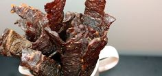 RadioGastronomy » Archive » Black Pepper Beef Jerky