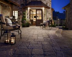 I used to have a dream patio. Until I saw this one.     www.gopavers.com