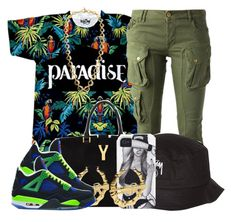 """""""paradise, summer thuggin."""" by msyorkieluver ❤ liked on Polyvore"""