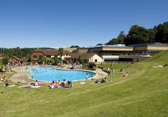 In the swim...Cofton Country Holidays, Devon, South West England | Caravan Sitefinder