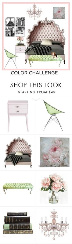 """Color Challenge"" by aria143 ❤ liked on Polyvore featuring interior, interiors, interior design, home, home decor, interior decorating, Kartell, Haute House, iCanvas and Home Decorators Collection"