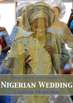 Wedding in Nigeria - traditional attire and trip back to Nigeria with images of everyday life, bride, groom, traditional customs and cost African Culture, African Safari, West Africa, World Traveler, Traditional Wedding, Wedding Attire, Celebrity Weddings, Sequin Skirt, Bride