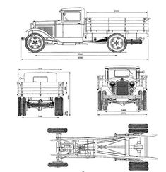 Cadillac v 16 blueprint cadillac pinterest cadillac cars gaz aa blueprint download free blueprint for 3d modeling malvernweather Image collections